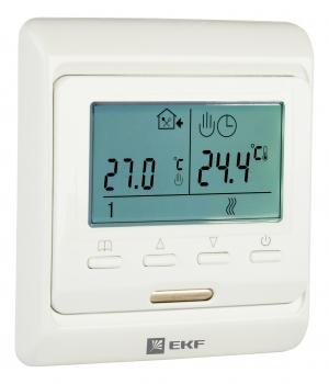 Термостат для теплых полов электронный 16 A 230В с датчиком пола  EKF Proxima