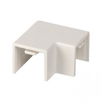 Поворот 90 гр. (16х16) (4 шт) Plast EKF PROxima Белый