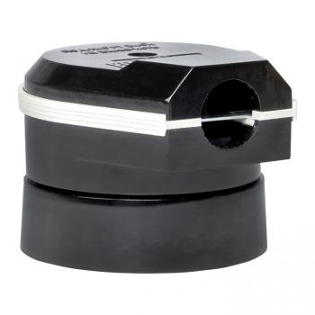 Разъем РШ-ВШ 32А 250В 2P+PE (ОУ) карболитовый черный EKF PROxima