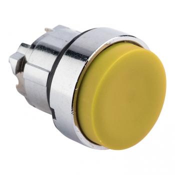 Исполнительный механизм кнопки XB4 желтый выпирающая  возвратный без фиксации, без подсветки EKF PROxima