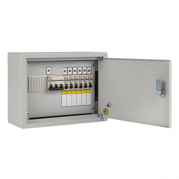 Щит осветительный ОЩВ  с автоматическими выключателями 3P 1x63A 1P 6x25A