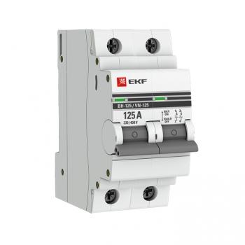 Выключатель нагрузки 2P 125А ВН-125 EKF PROxima