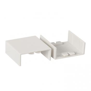 Соединитель (40х16) (4 шт) Plast EKF PROxima Белый