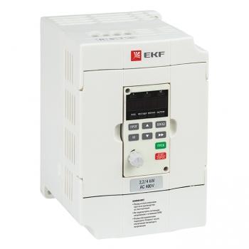Преобразователь частоты 0,75/1,5кВт 3х400В VECTOR-75 EKF Basic