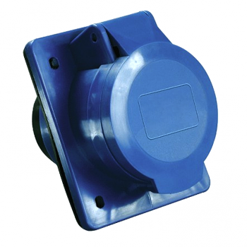 Розетка стационарная внутренняя 423 2Р+РЕ 32А 220В IP44 EKF PROxima