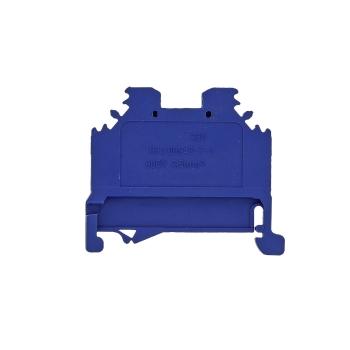 Колодка клеммная самозажимная JXB-S-10 57А синяя EKF PROxima