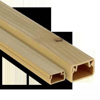 Канал кабельный   под светлое дерево (25х25) (32м.) Plast EKF PROxima