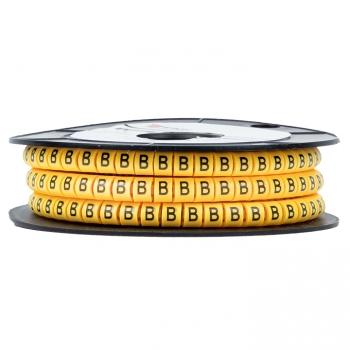 "Маркер кабельный 1,5 мм2 ""B"" (1000 шт.) (ЕС-0) EKF PROxima"