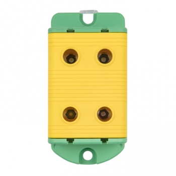 Клемма силовая вводная двойная КСВ 16-95 желто-зеленая EKF PROxima