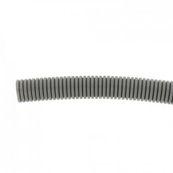 Труба гофр. ПВХ Plast с протяжкой d25 мм (50 м) EKF