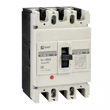 Выключатель автоматический ВА-99М  250/250А 3P 35кА EKF PROxima