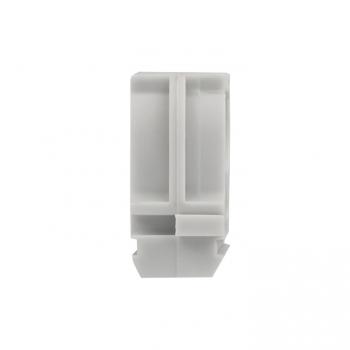 Крепеж-клипса серая d20мм  (100шт.) Plast EKF PROxima