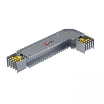 Угловая горизонтальная секция c нестандартным плечом 400 А IP55 AL 3L+N+PE(КОРПУС)
