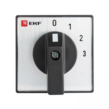 Переключатель кулачковый ПК-1-103 25А 3P «0-1-2-3» EKF PROxima