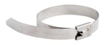 Хомут AISI 304 из нержавеющей стали, 4.6x290 (100 шт.) FlexLock PROxima