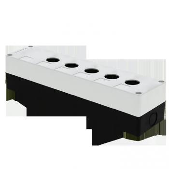 Корпус КП105 пластиковый 5 кнопок белый EKF PROxima