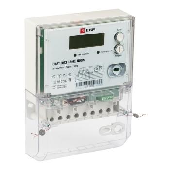 Счетчик электрической энергии СКАТ 315Э/1-5(60) ШОИ4 П EKF PROxima