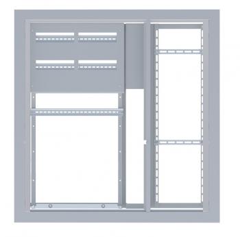 Щит этажный 2 квартиры усиленный (1000х960х157) IP31 EKF Basic