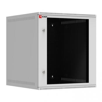 Шкаф телекоммуникационный настенный 12U (600х650) дверь стекло, Astra A серия EKF Basic
