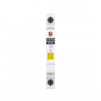 Лампа сигнальная ЛС-47 (желтая) EKF PROxima