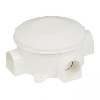 Коробка распаячная КМР-040-040 трехрожковая белая (70х35) EKF PROxima