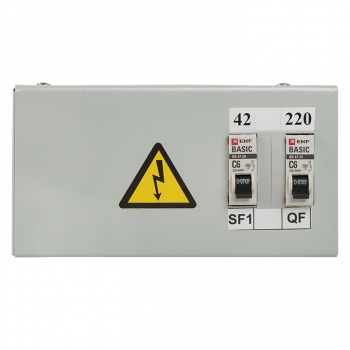 Ящик с понижающим трансформатором ЯТП 0,25кВА 220/42В EKF Basic