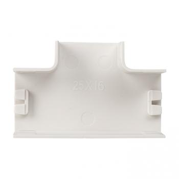 Угол T-образный (25х16) (4 шт) Plast EKF PROxima Белый