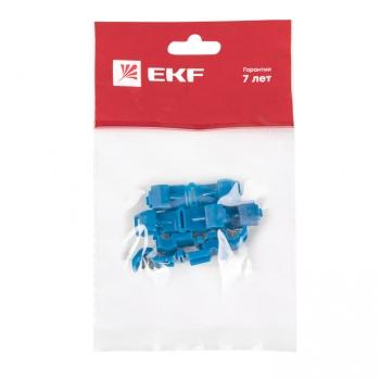 Ответвитель прокалывающий  ОВ-Т 2 1.5-2.5 мм2 синий (5 шт) EKF PROxima
