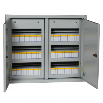 Щит распред. встраиваемый ЩРВ-72 двухдверный (520х605х120) IP31 EKF PROxima