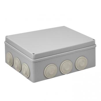 Коробка распаячная КМР-050-043 пылевлагозащитная, 12 мембранных вводов, уплотнительный шнур (240х190х90) EKF PROxima
