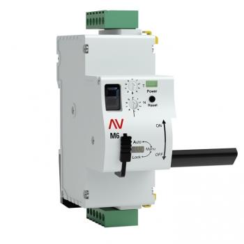 Привод моторный с режимом автовзвода AV-M6 1P/2P EKF AVERES