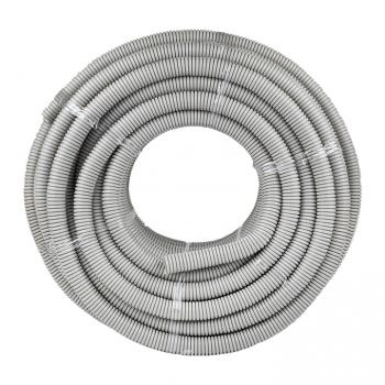 Труба гофр. ПВХ Plast с протяжкой d32 мм (50 м) EKF