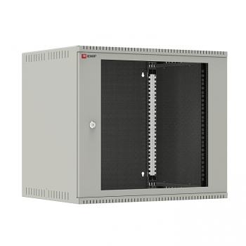 Шкаф телекоммуникационный настенный 9U (600х450) дверь стекло, Astra E серия EKF PROxima