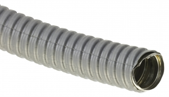 Металлорукав ПВХ РЗ-ЦП - 18 (50м.) серый мешок EKF PROxima