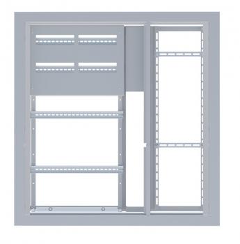 Щит этажный 3 квартир усиленный (1000х960х157) IP31 EKF Basic