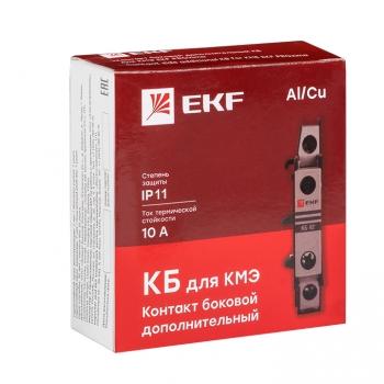 Контакт боковой дополнительный КБ-11 1NO+1NC для КМЭ EKF PROxima
