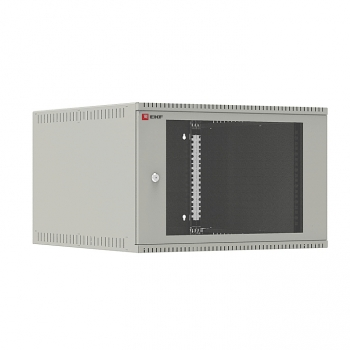Шкаф телекоммуникационный настенный 6U (600х650) дверь стекло, Astra E серия EKF PROxima