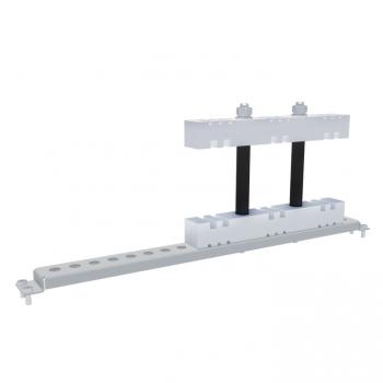 Шинодержатель 3Р стационарный для вертикальных шин 5/10 мм Г600 EKF AVERES
