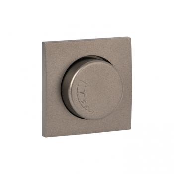 Валенсия лицевая панель светорегулятора 600W 220В графит EKF PROxima