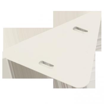 Бирка кабельная маркировочная У-136 (100шт.) треугольник EKF PROxima
