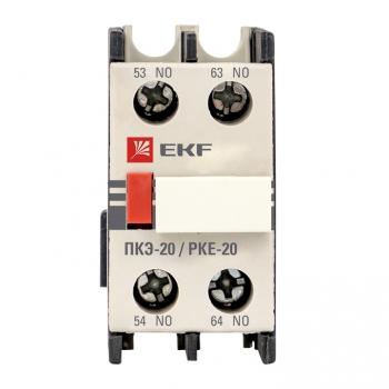 Приставка контактная ПКЭ-20 2NO EKF PROxima