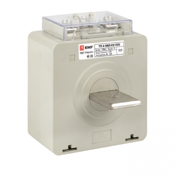 Трансформатор тока ТТЕ-A-1000/5А с клеммой напряжения класс точности 0,5S EKF PROxima