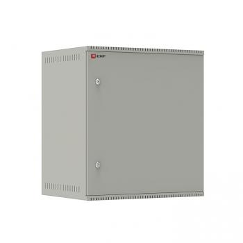 Шкаф телекоммуникационный настенный 12U (600х450) дверь металл, Astra E серия EKF PROxima