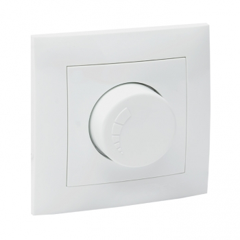 Валенсия светорегулятор 600W 220В белый EKF PROxima