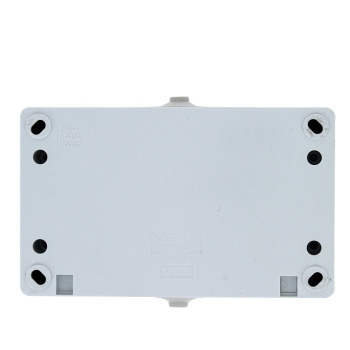 Блок розетка-выкл. 2-кл. 16А с/з с крышкой IP54 бел. с защ. штор. Венеция EKF PROxima