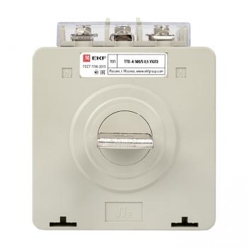 Трансформатор тока ТТЕ-A-500/5А с клеммой напряжения класс точности 0,5 EKF PROxima