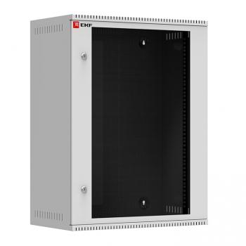 Шкаф телекоммуникационный настенный 18U (600х550) стекло, Astra серия EKF PROxima