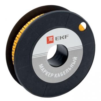 "Маркер кабельный 6,0 мм2 ""9"" (350 шт.) (ЕС-3) EKF PROxima"