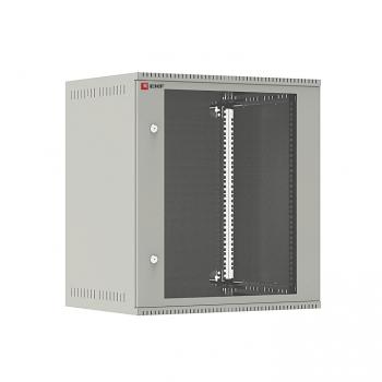 Шкаф телекоммуникационный настенный 12U (600х450) дверь стекло, Astra E серия EKF PROxima