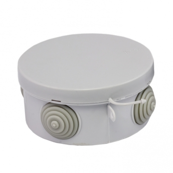 Коробка распаячная КМР-040-039 с крышкой наружная (93х43) 4 мембранных ввода IP54 EKF PROxima